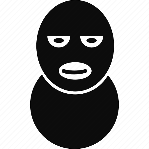 avatar, burglar, crime, mask icon