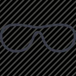 crime, frame, lenses, spectacles icon