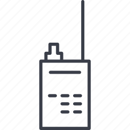 antenna, crime, radio, signal, wireless icon