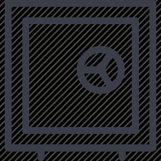 code, crime, repository, safe icon