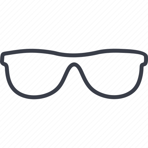 crime, glasses, optics, spectacles, vision icon