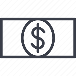 bill, crime, dollar, finance, money icon