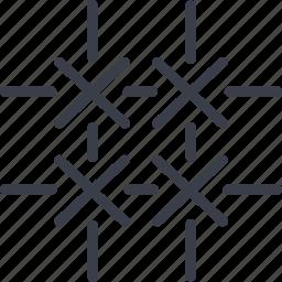 crime, fencing, lattice, security icon