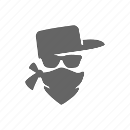 crime, criminal, mafia, mug, robbery, thief icon
