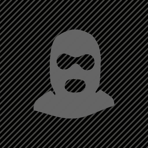 crime, criminal, face, mafia, robbery, thief, violation icon