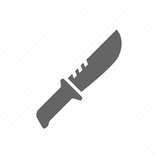 Weapon, knife icon