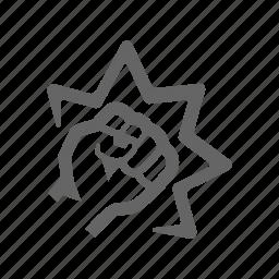 brute force, criminal, forcing, mafia, mug, robbery, thief, violation icon