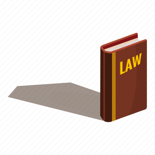 book, cartoon, code, code of laws, court, law, logo icon