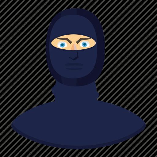 cartoon, helmet, killer, law, police, shield, special icon
