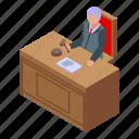 judge, isometric, legal