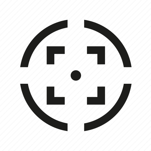 crosshair, goal, marketing, target icon