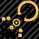 benefit, money, raise, rocket, yield icon