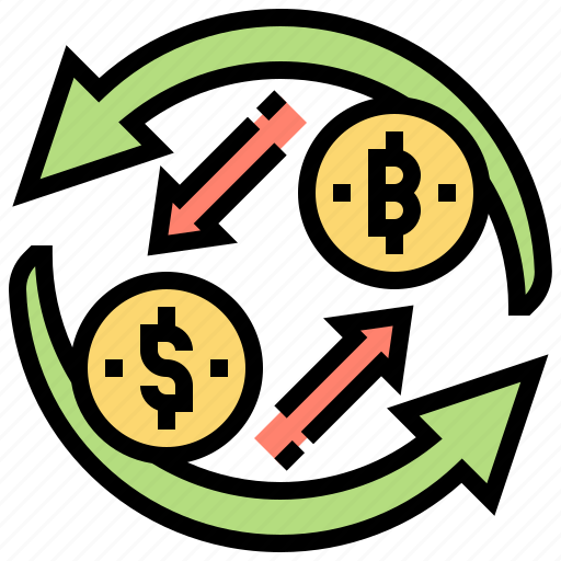 currency, cycle, exchange, market, value icon