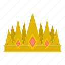 authority, crown, decoration, king, leader, luxury, nobility icon