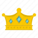 authority, decoration, king, leader, luxury, nobility, prince crown icon