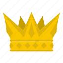 authority, cog crown, decoration, king, leader, luxury, nobility icon