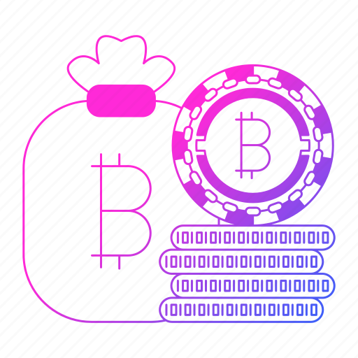 bitcoin, cash, cryptocurrency, digital money, mining, money icon