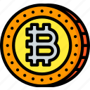 bitcoin, crypto, crypto currency, ethereum, money, stock trading icon
