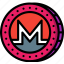crypto, crypto currency, ethereum, monero, money, stock trading icon