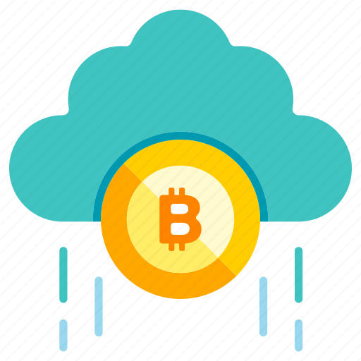 Blockchain, bitcoin, cryptocurrency, currency, digital, technology, cloud icon