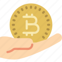 bitcoin, crypto, crypto currency, ethereum, money, pay, stock trading icon