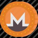 crypto, crypto currency, ethereum, monero, money, stock trading icon