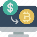 bitcoin, crypto, crypto currency, ethereum, money, stock trading, transfer icon
