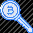money, stock trading, bitcoin, crypto, ethereum, key, crypto currency icon