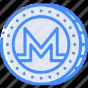 money, stock trading, crypto, ethereum, monero, crypto currency icon
