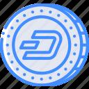 money, stock trading, crypto, dash, ethereum, crypto currency icon