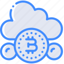 money, stock trading, bitcoin, crypto, ethereum, cloud, crypto currency icon