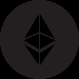 eth, ether, ethereum icon