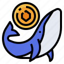 whale, trade, stock, cryptocurrency, market