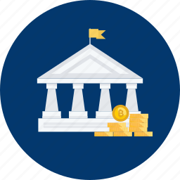 bitcoin, building, coin, compliance, cryptocurrency, regulation, rule icon