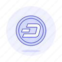 asset, coin, crypto, cryptocurrency, currency, dash, digital