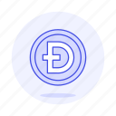 currency, digital, asset, dogecoin, coin, crypto, cryptocurrency