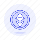 asset, coin, crypto, cryptocurrency, currency, digital, ethereum