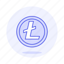 asset, coin, crypto, cryptocurrency, currency, digital, litecoin