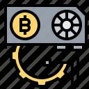 bitcoin, farm, gpu, mining, rig