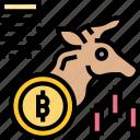 bullish, bitcoin, price, investment, market