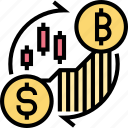 cryptocurrency, bitcoin, exchange, trade, market