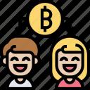 spend, double, blockchain, network, transaction