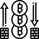 stable, coin, price, asset, value icon