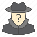 anonymity, privacy, protection, security icon