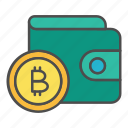 bitcoin, crypto, cryptocurrency, payment, transaction, wallet icon