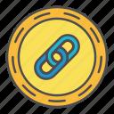 blockchain, crypto, programming icon