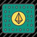 coding, crypto, program, programming icon