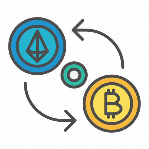Bitcoin, crypto, cryptocurrency, exchange, payment, swap icon - Download on Iconfinder