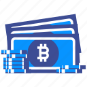 bitcoin cash, blockchain, crypto, digital, electronic, money, payment icon