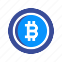 bitcoin, blockchain, coin, crypto, cryptocurrency, electronic, mining icon
